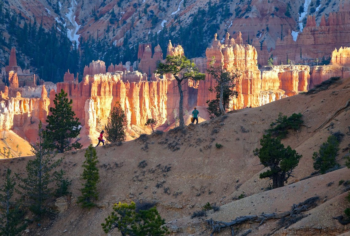 Queens Garden Trail in Bryce Canyon