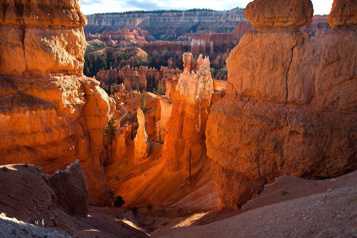 Views along Queens Garden Trail in Bryce Canyon