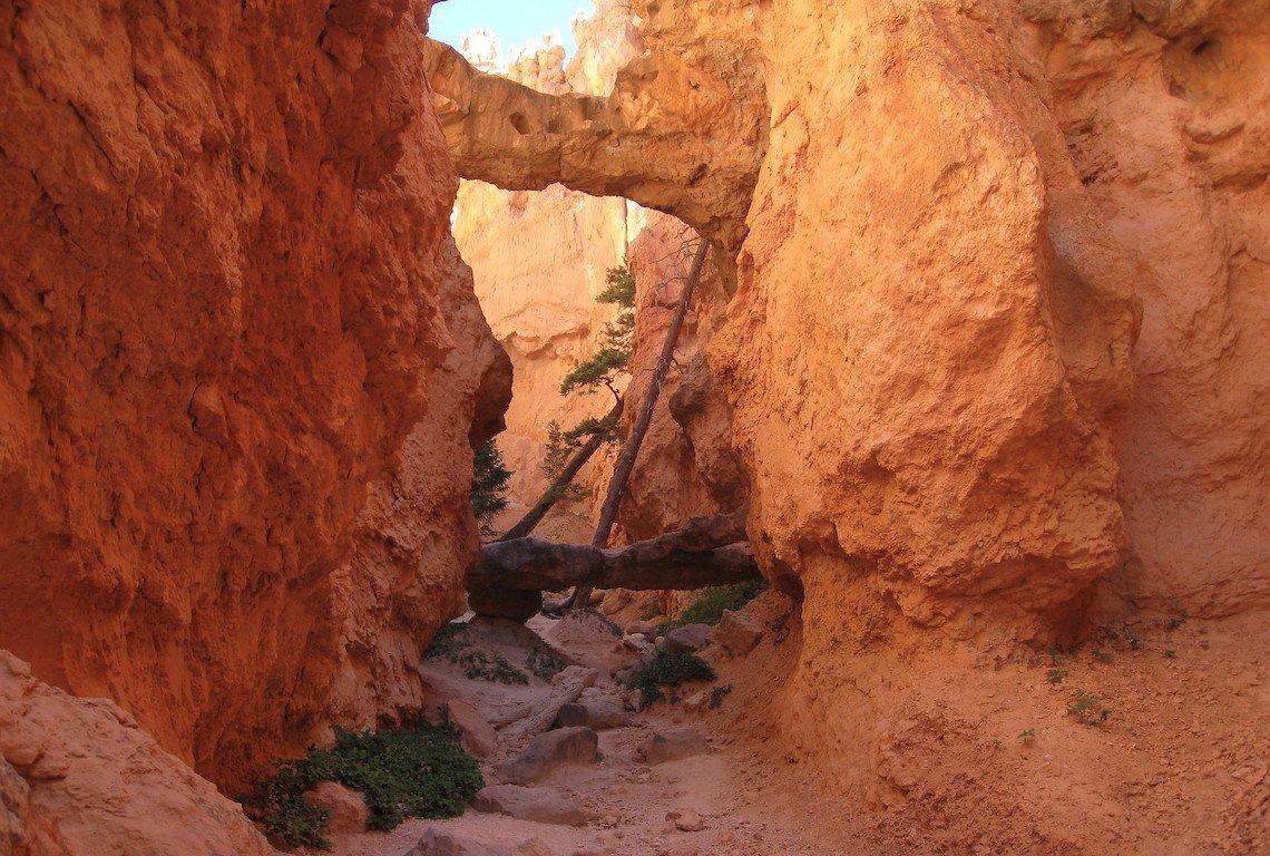 Two Bridges along Navajo Loop Trail