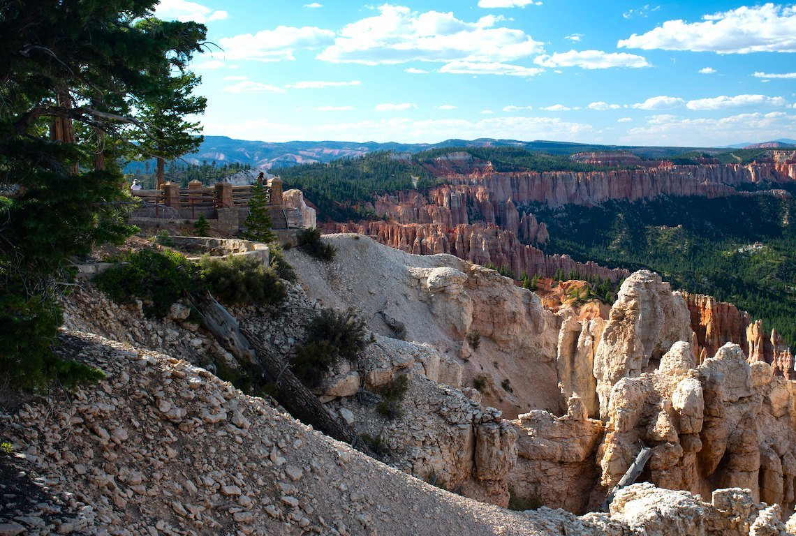 Riggs Spring Loop Trail In Bryce Canyon