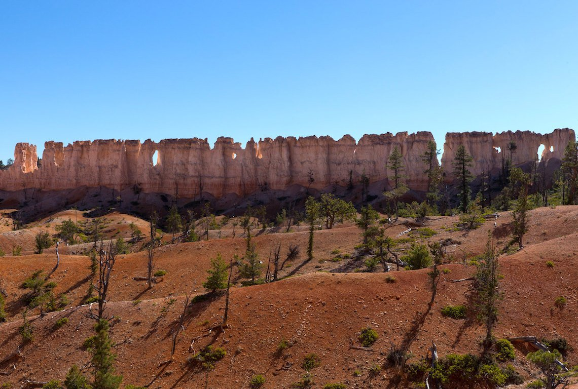 China Wall in Bryce Canyon National Park