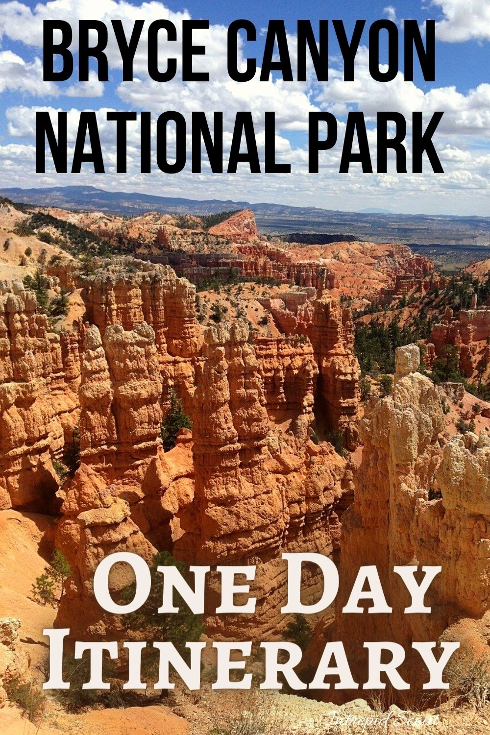 One Day in Bryce Canyon National Par (Step-By-Step One Day Itinerary)