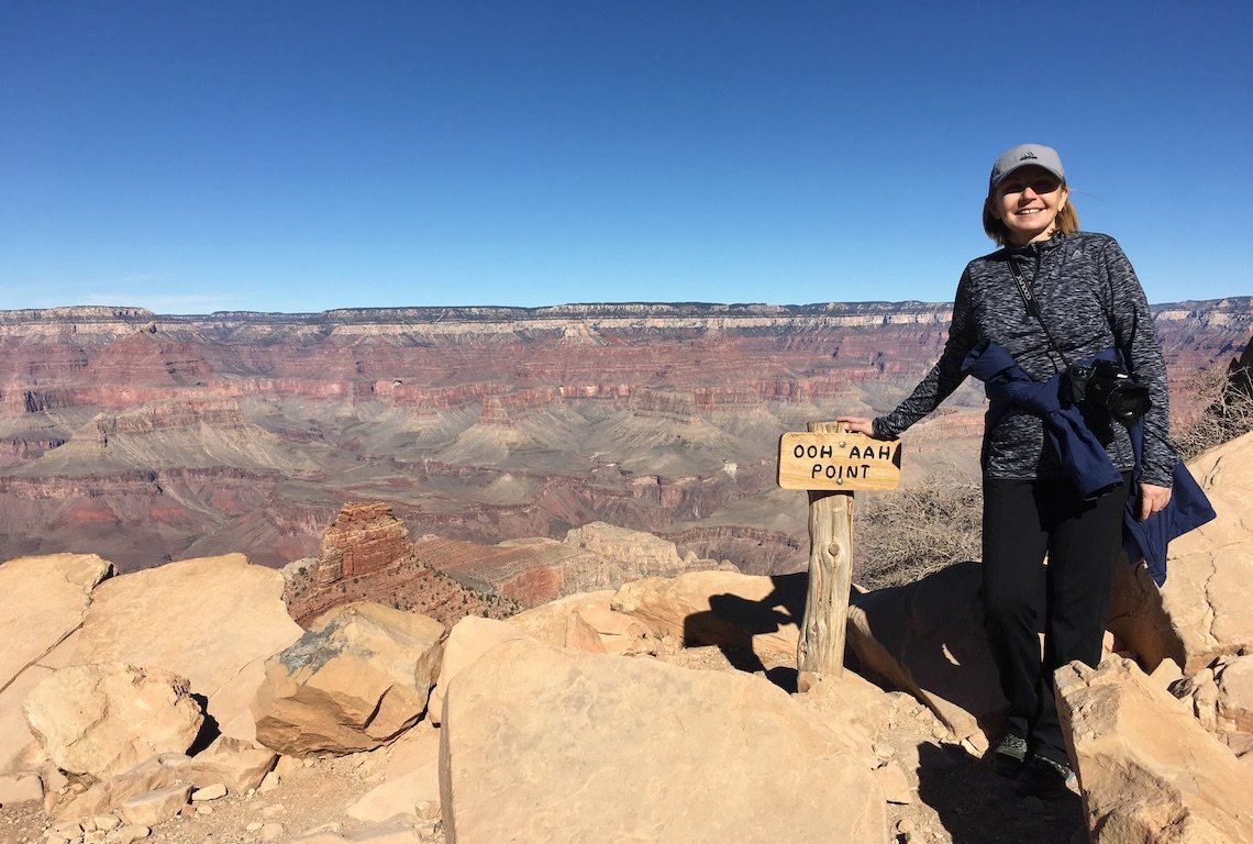 Ooh and Aah Point in Grand Canyon National Park