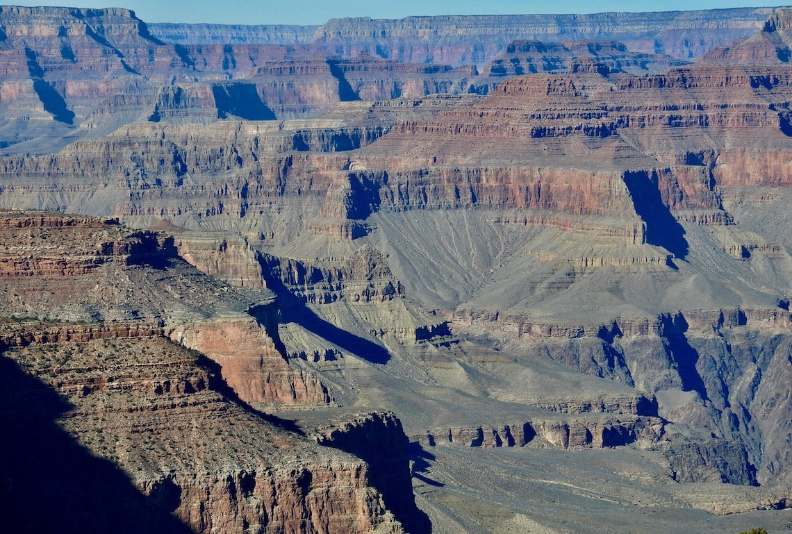 Ooh Aah Point in Grand Canyon